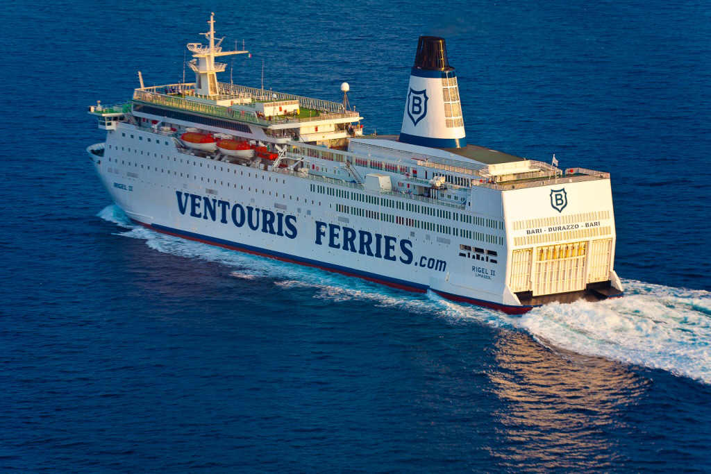 Ventouris Ferries, nave RIGEL II
