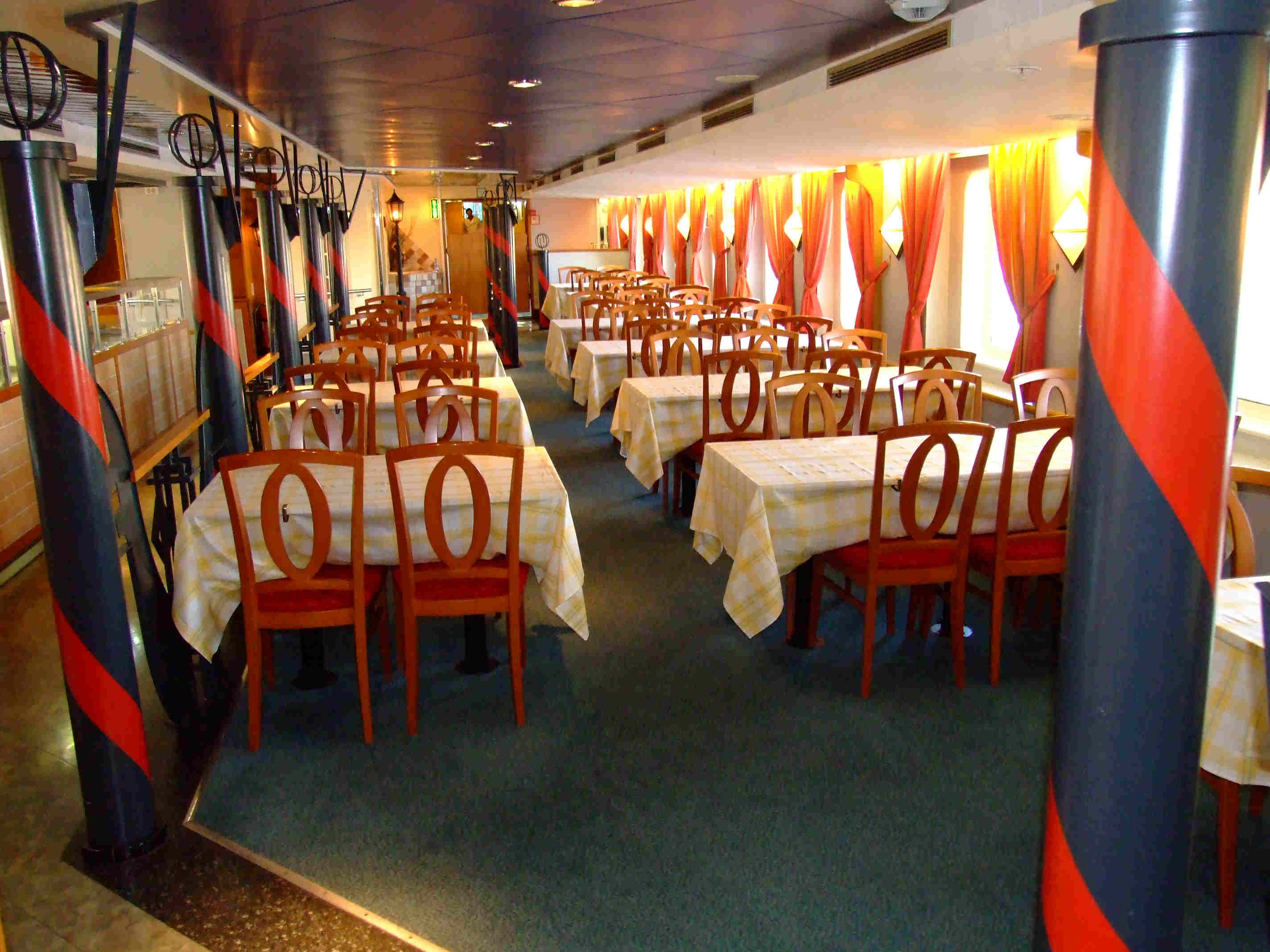 Traghetto RED STAR I - ristorante